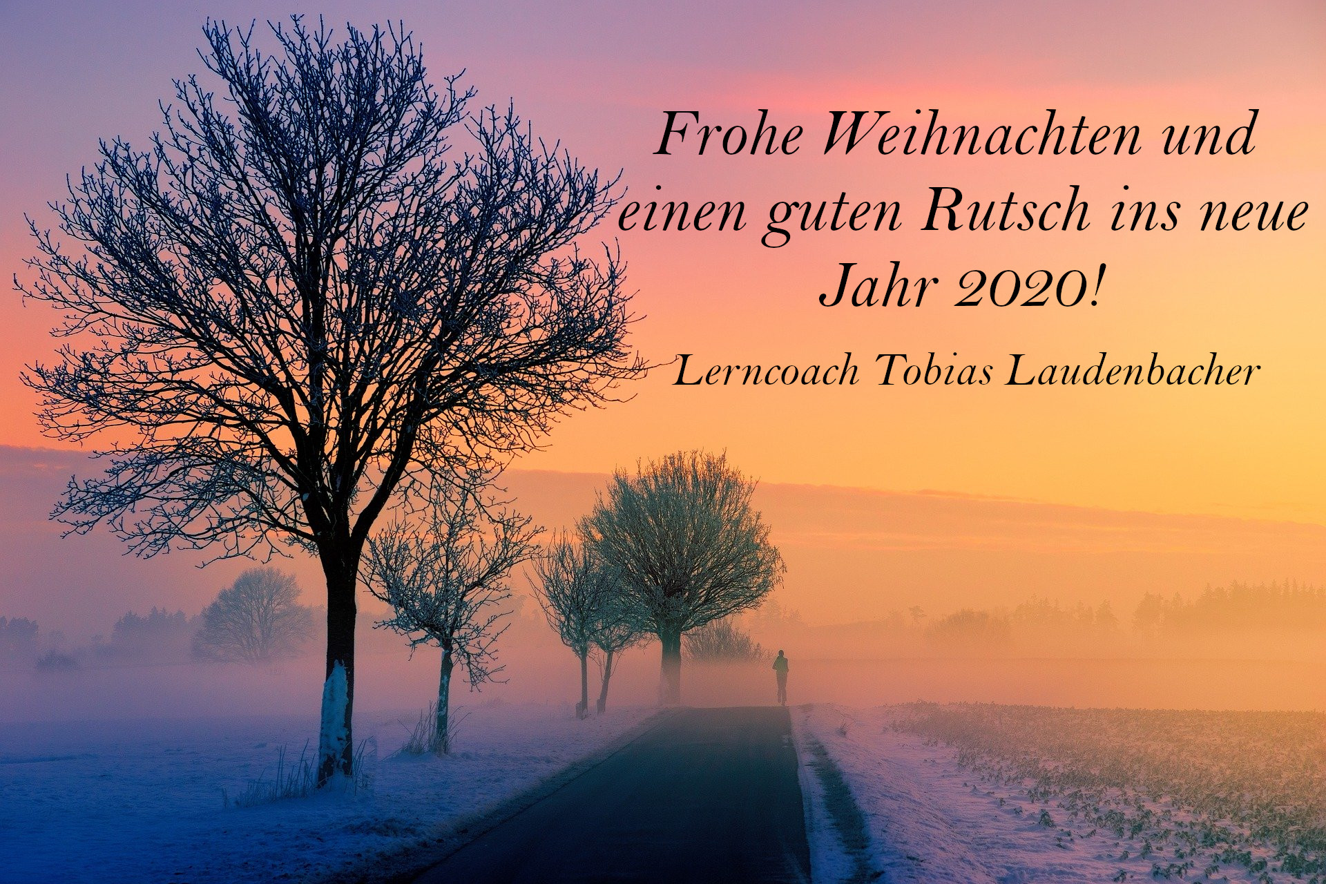 Frohe Weihnachten 2019 Lerncoach Tobias Laudenbacher